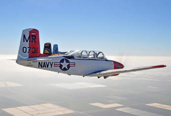 N341MR - Private Beechcraft T-34B Mentor