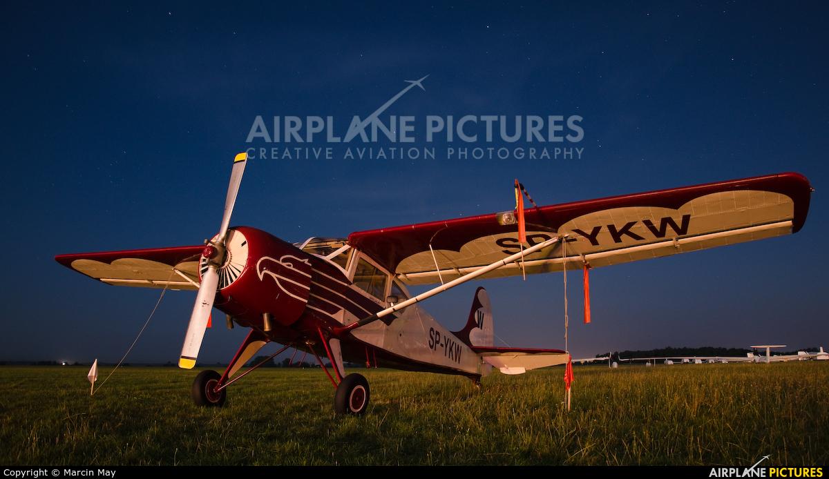 Aeroklub Orląt SP-YKW aircraft at Leszno - Strzyżewice