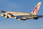 A7-APB - Qatar Airways Airbus A380 aircraft