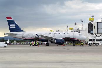 N721UW - US Airways Airbus A319
