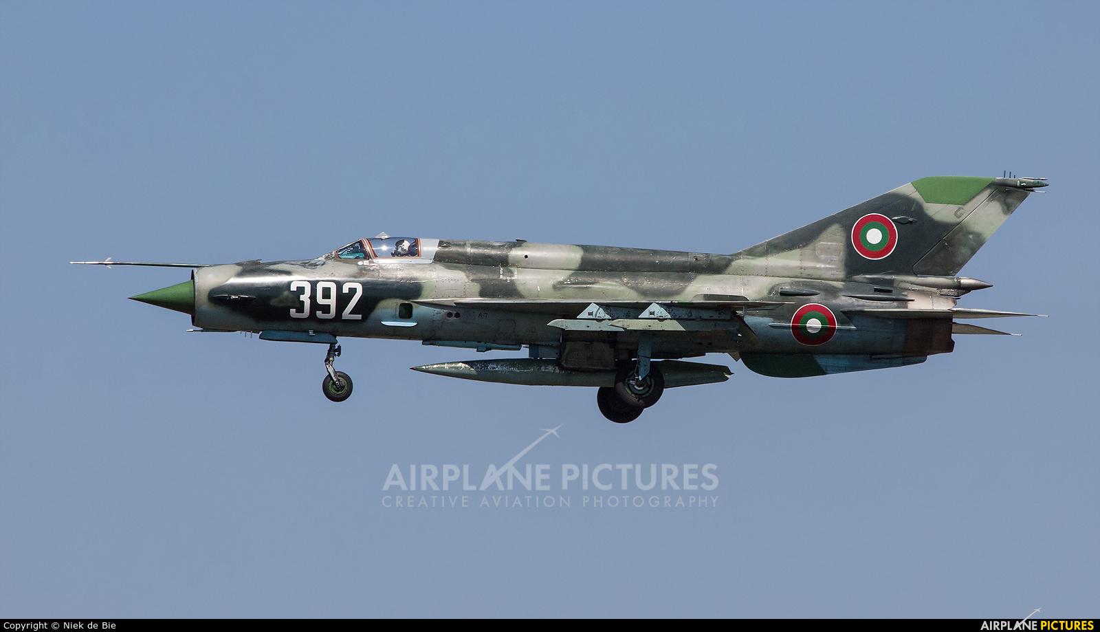 Bulgaria - Air Force 392 aircraft at Graf Ignatievo