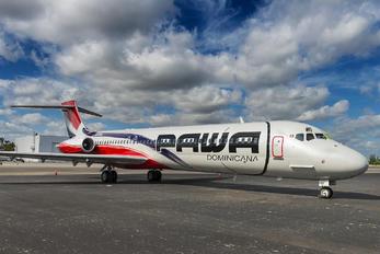 N572SH - PAWA Dominicana McDonnell Douglas MD-87