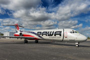 First MD-87 for PAWA Dominicana awaiting delivery at Opa Locka title=