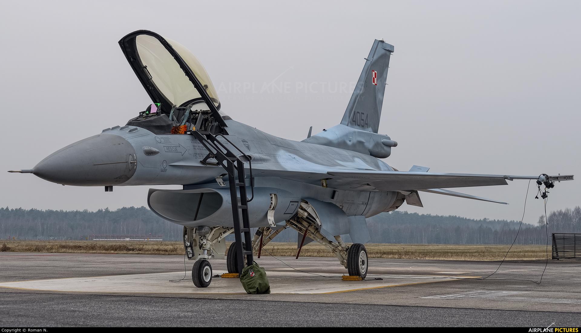 Poland - Air Force 4054 aircraft at Bydgoszcz - Szwederowo