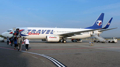 SP-TVZ - Travel Service Boeing 737-800