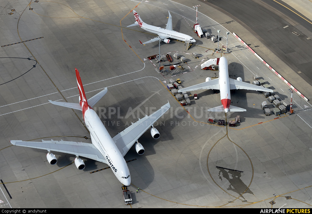 QANTAS VH-OQA aircraft at Sydney - Kingsford Smith Intl, NSW