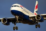 G-EUPF - British Airways Airbus A319 aircraft