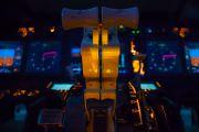 - - Simulator Boeing 737-800 aircraft