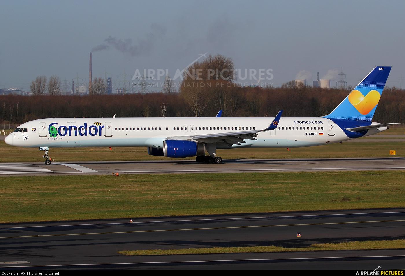 Condor D-ABOG aircraft at Düsseldorf