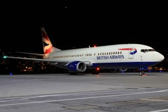 G-DOCZ - British Airways Boeing 737-400