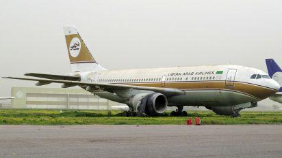 TS-IGU - Libyan Arab Airlines Airbus A310