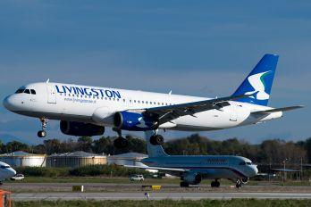 EI-EUB - Livingston Airbus A320