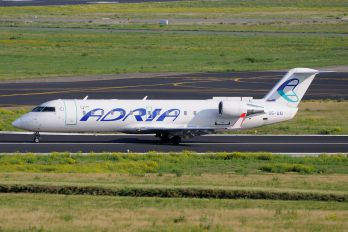S5-AAI - Adria Airways Canadair CL-600 CRJ-200