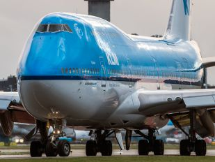 PH-BFD - KLM Boeing 747-400