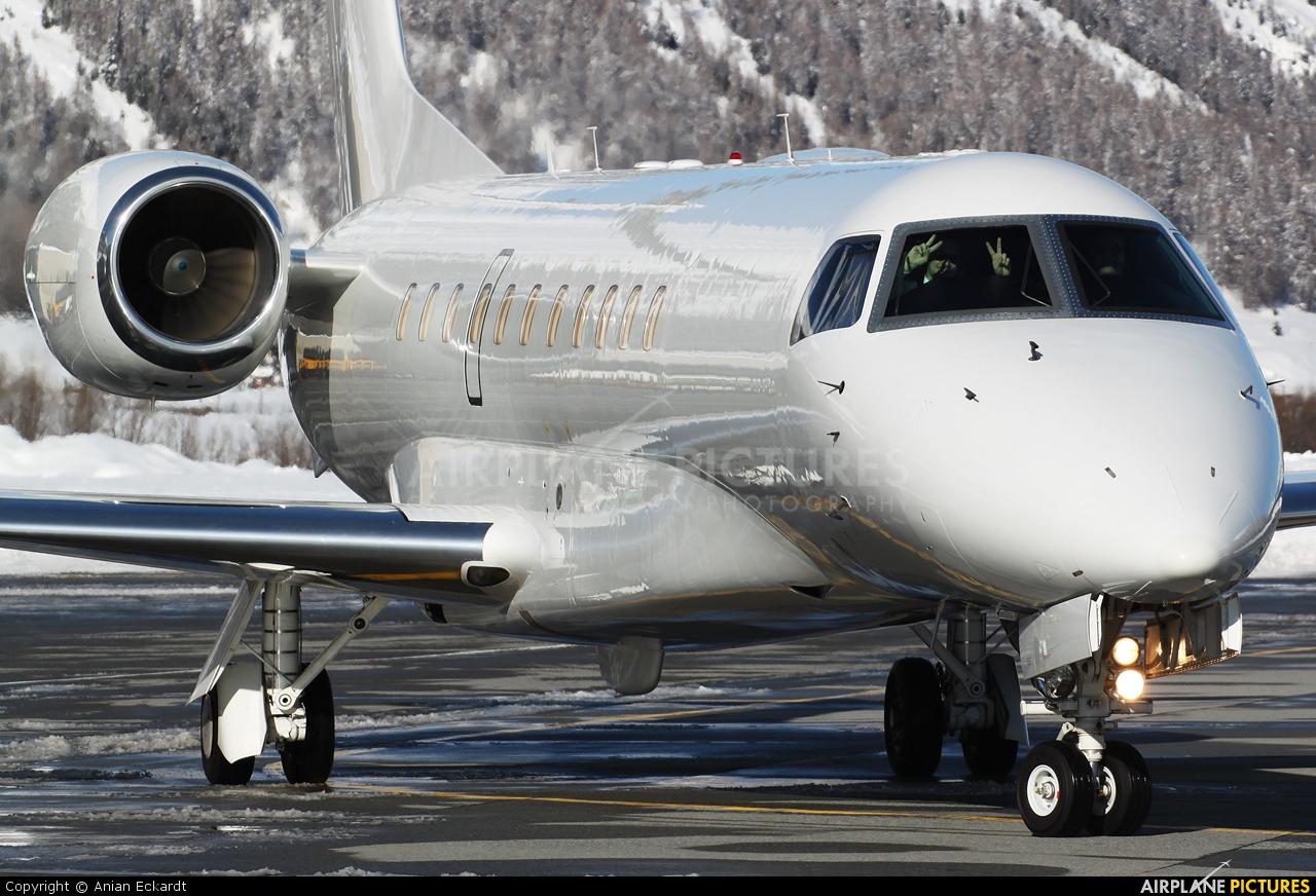 Private 9H-WFC aircraft at Samedan - Engadin