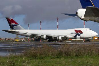 G-MKBA - MK Airlines Boeing 747-200F