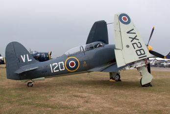 G-RNHF - Naval Aviation Hawker Sea Fury T.20