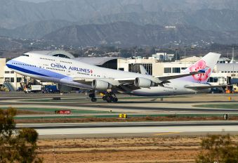 B-18215 - China Airlines Boeing 747-400