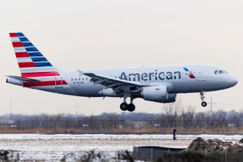 N700UW - American Airlines Airbus A319