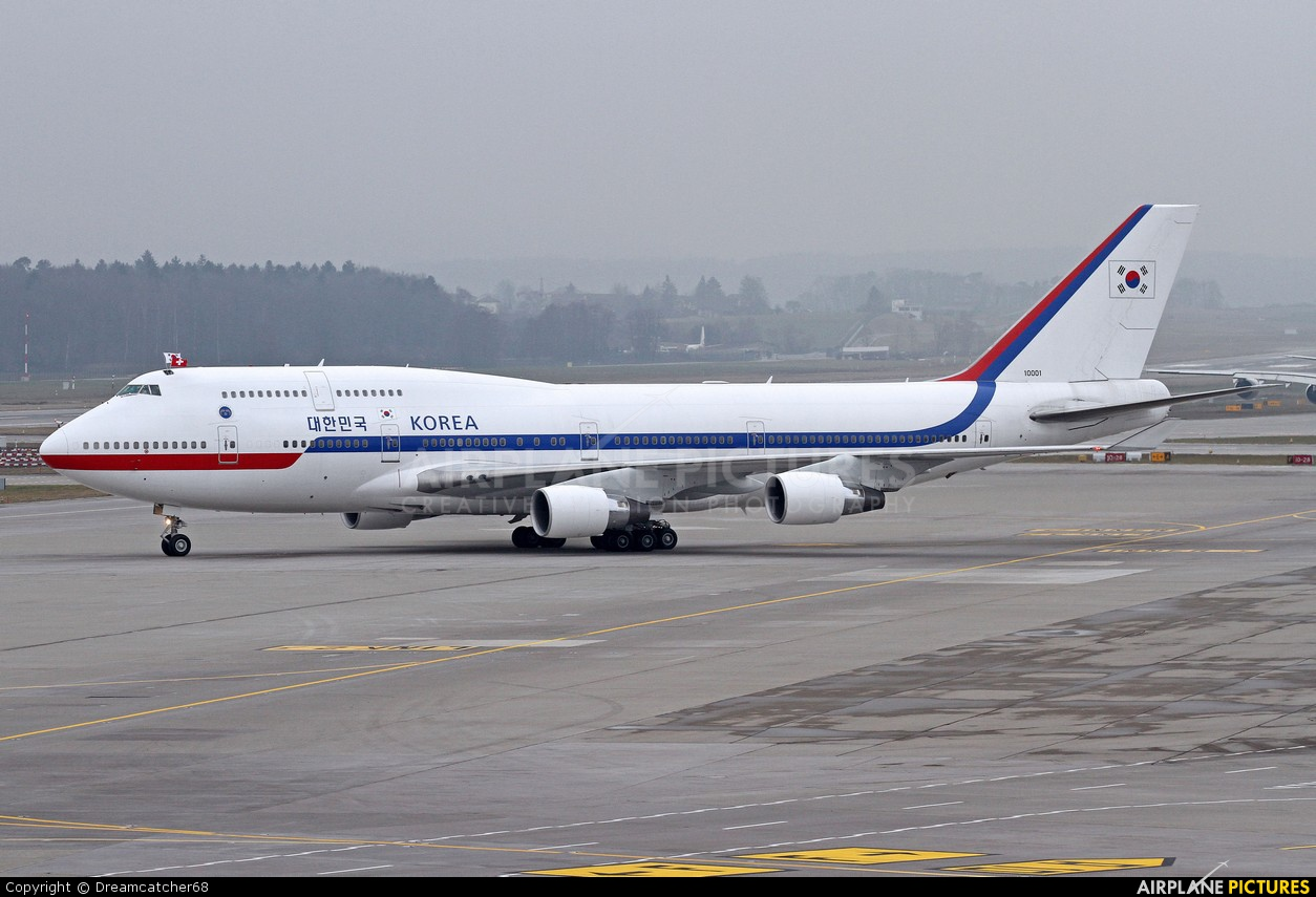 Korea (South) - Air Force 10001 aircraft at Zurich