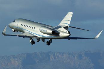 VP-BRA - Private Dassault Falcon 2000 DX, EX