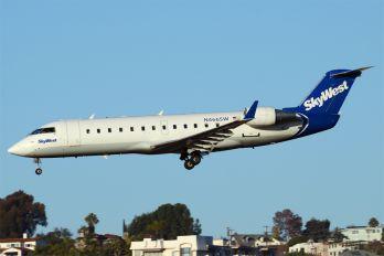 N466SW - SkyWest Airlines Canadair CL-600 CRJ-200