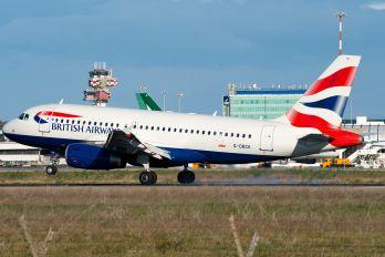 G-DBCK - British Airways Airbus A319