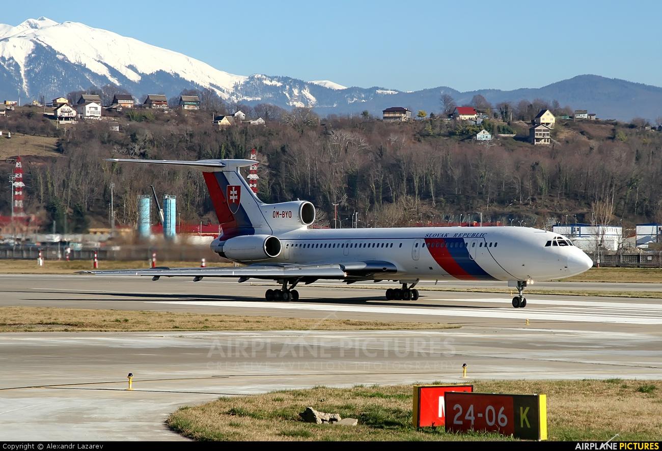Slovakia - Government OM-BYO aircraft at Sochi Intl
