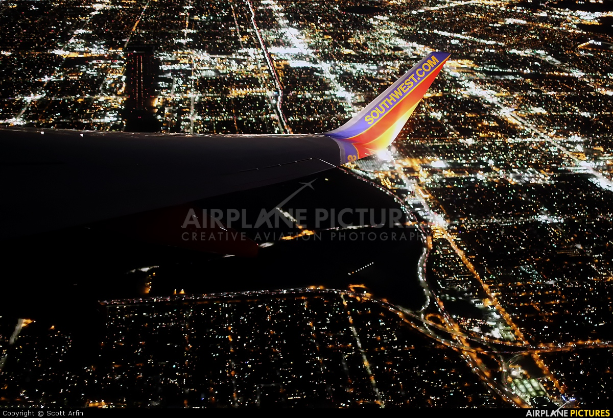 Southwest Airlines - aircraft at In Flight - California