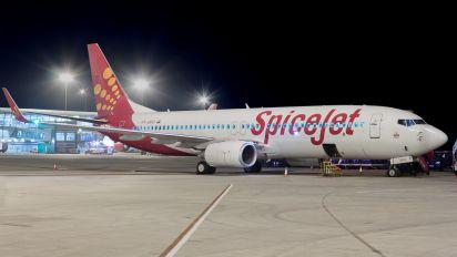 VT-SPO - SpiceJet Boeing 737-800