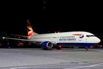 G-DOCZ - British Airways Boeing 737-400