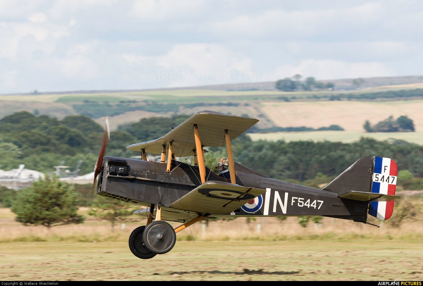 Private G-BKER aircraft at Montrose