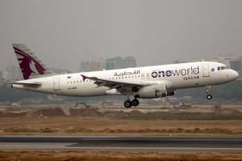 A7-AHO - Qatar Airways Airbus A320