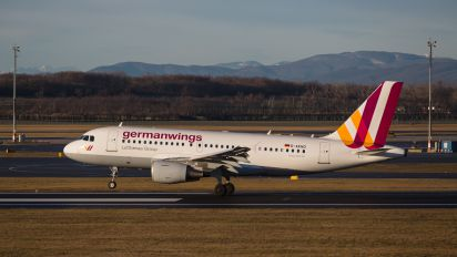 D-AKNO - Germanwings Airbus A319
