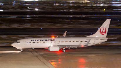 JA336J - JAL - Express Boeing 737-800