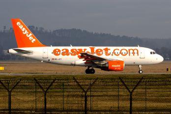 HB-JZT - easyJet Switzerland Airbus A319