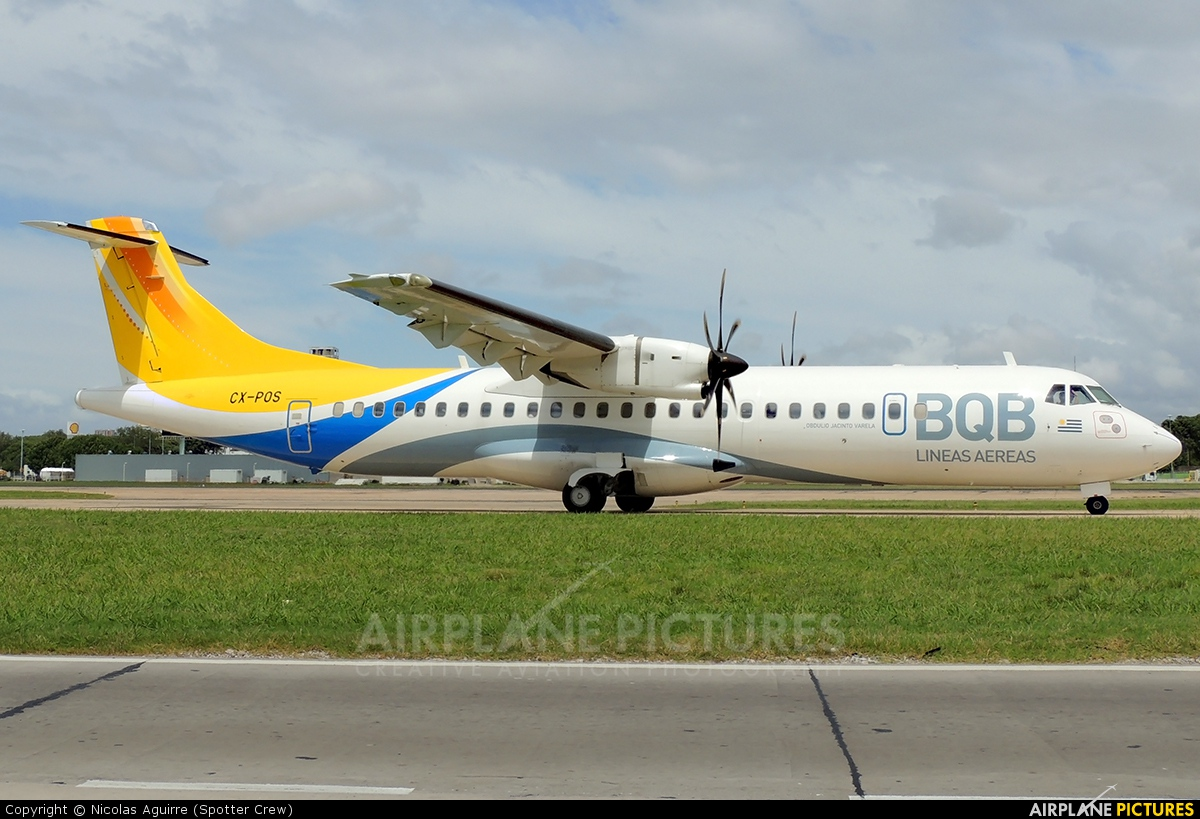 BQB Lineas Aereas CX-POS aircraft at Buenos Aires - Jorge Newbery