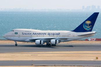 HZ-HM1C - Saudi Arabia - Royal Flight Boeing 747SP