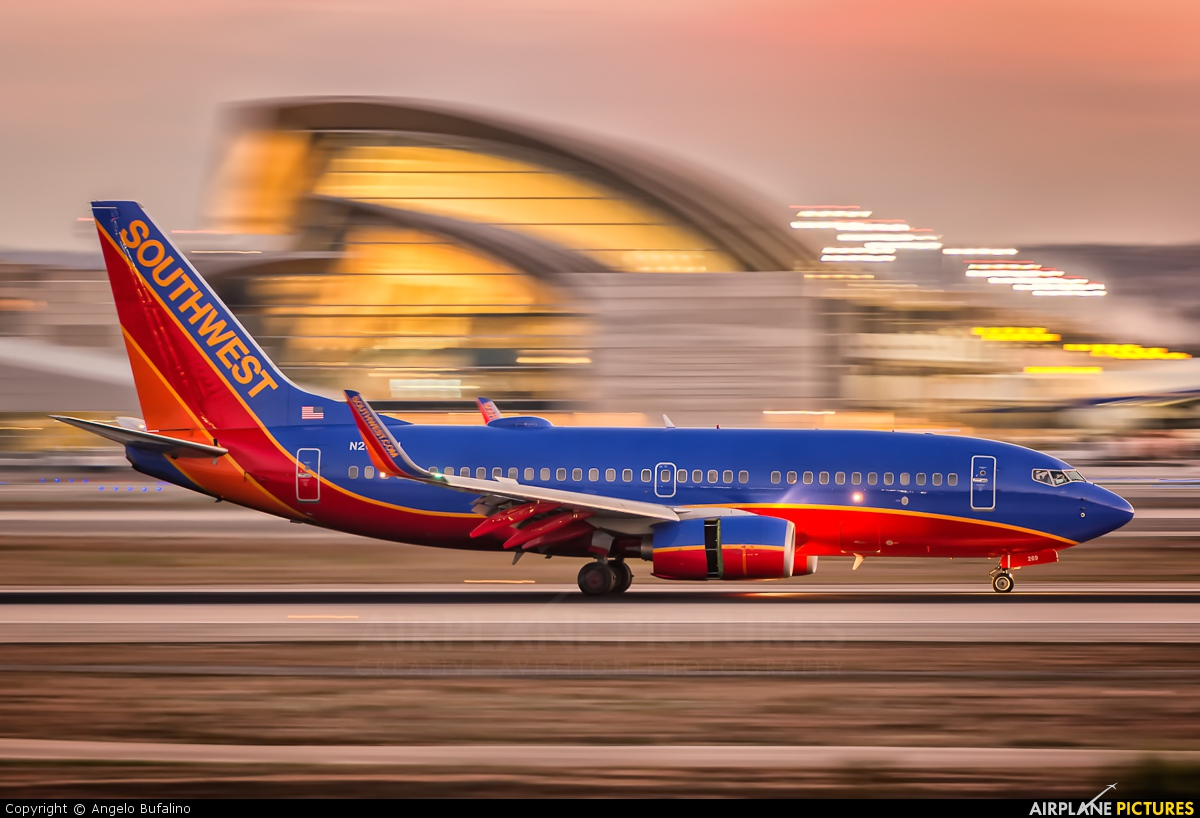 Southwest Airlines N269WN aircraft at Los Angeles Intl