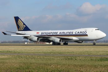 9V-SFF - Singapore Airlines Cargo Boeing 747-400F, ERF