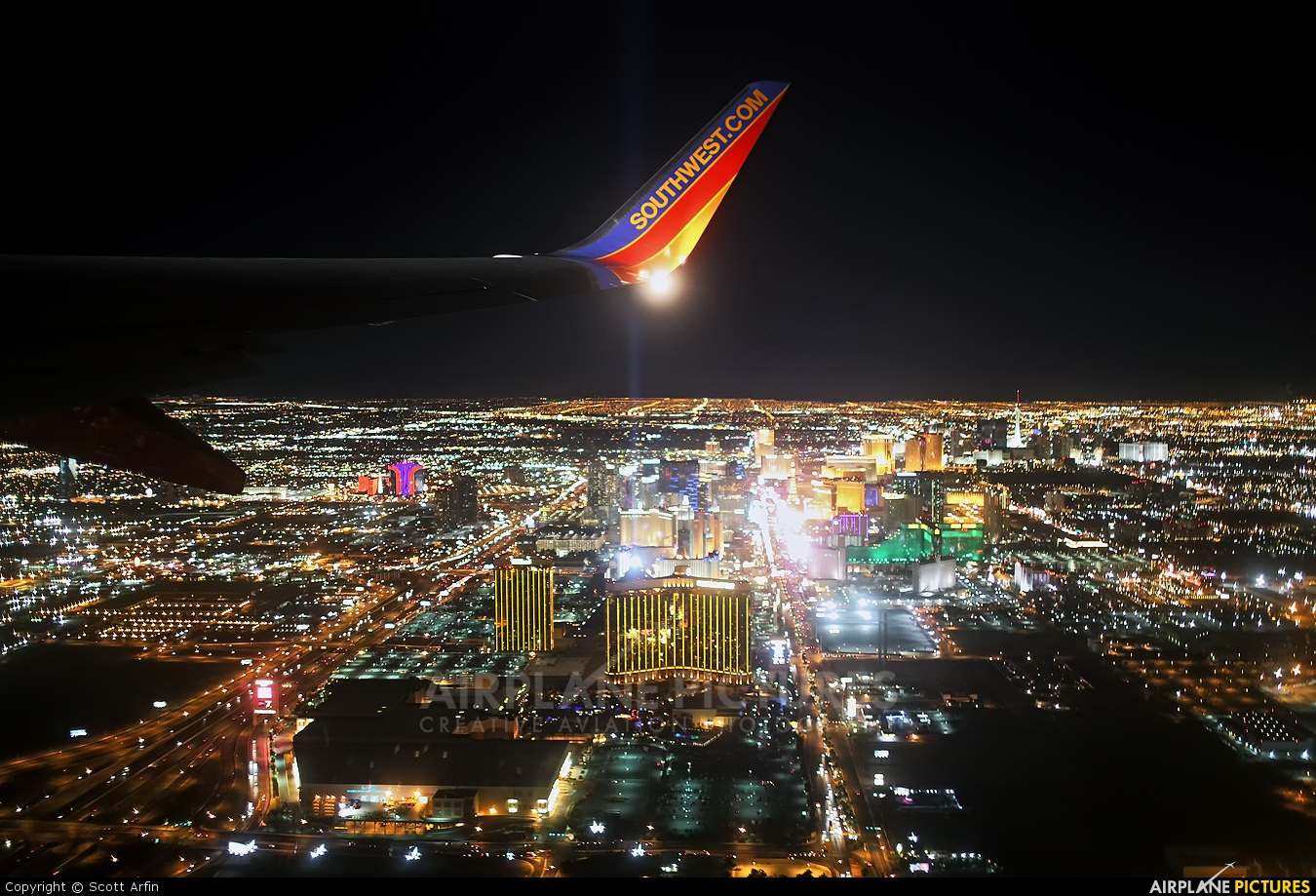 Southwest Airlines N8317M aircraft at In Flight - Nevada