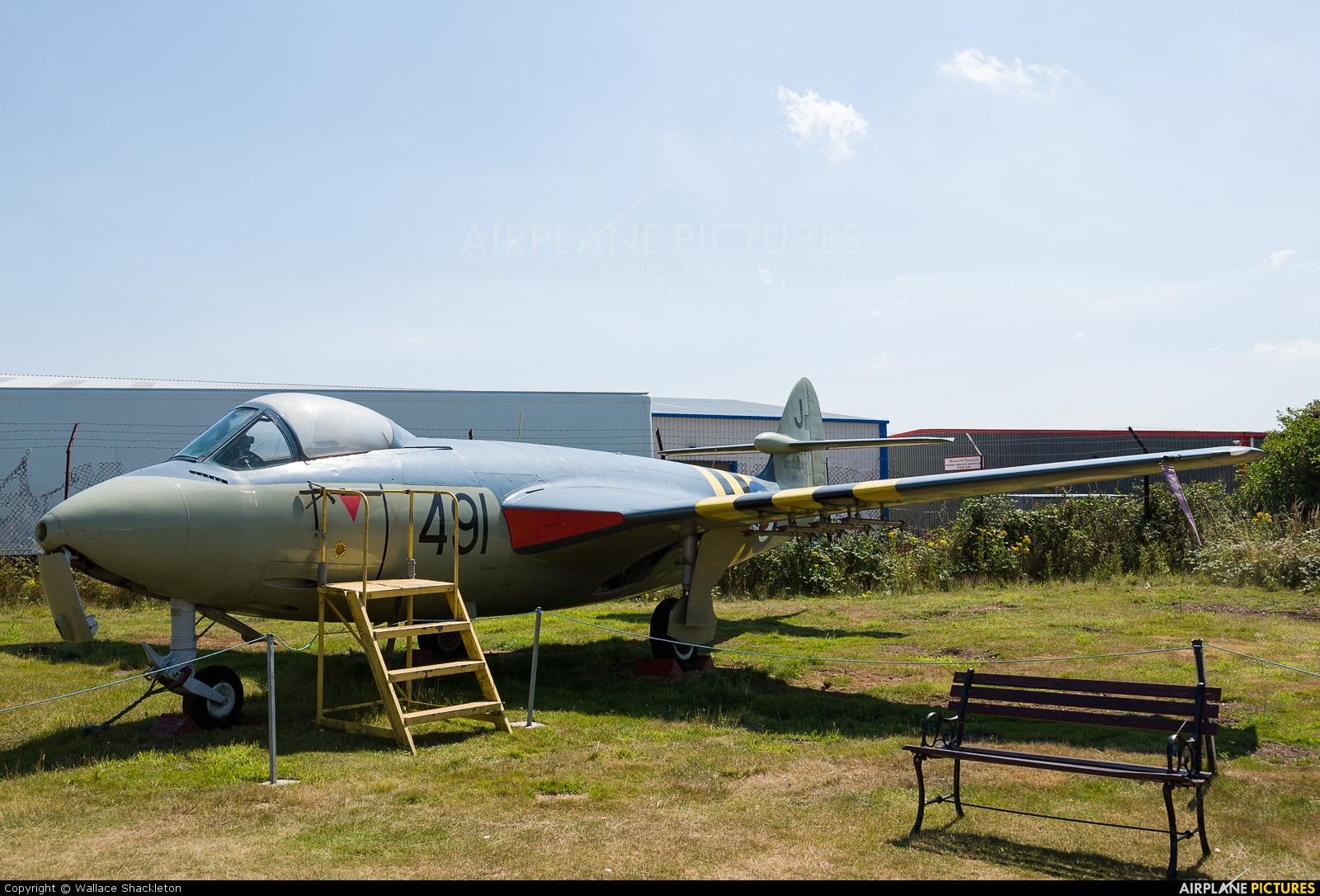 Royal Navy WV797 aircraft at Coventry