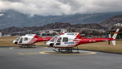 HB-ZNA - Air Glaciers Aerospatiale AS350 Ecureuil / Squirrel