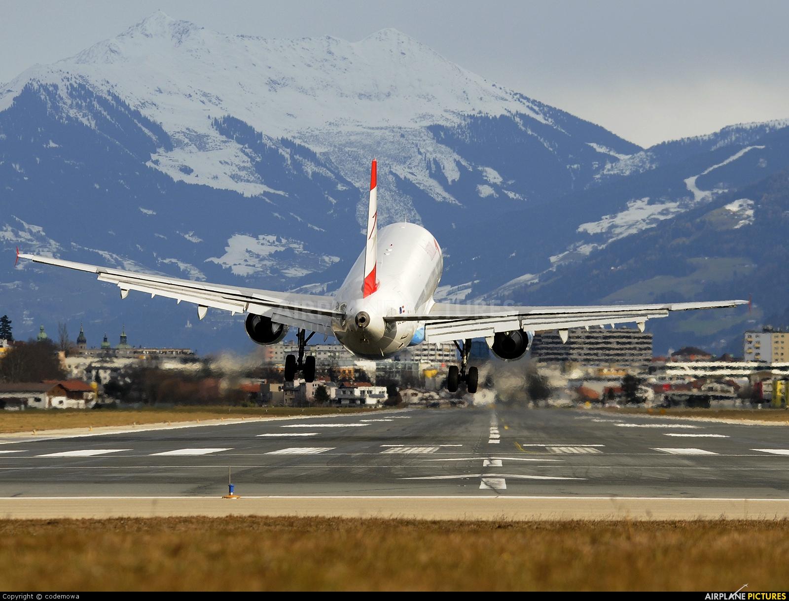 Austrian Airlines/Arrows/Tyrolean OE-LBB aircraft at Innsbruck