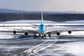 HL7489 - Korean Air Boeing 747-400