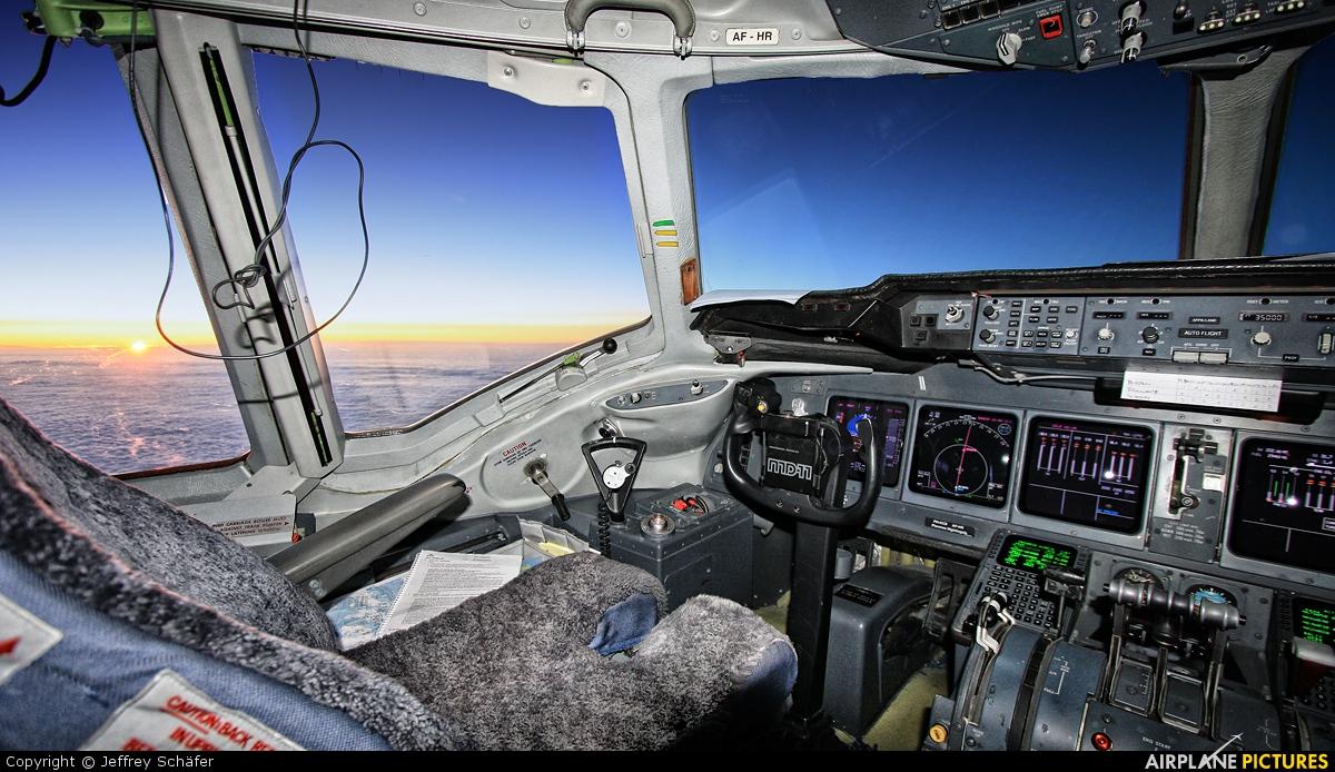 KLM PH-KCD aircraft at In Flight - Greenland