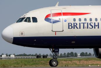 G-EUUK - British Airways Airbus A320