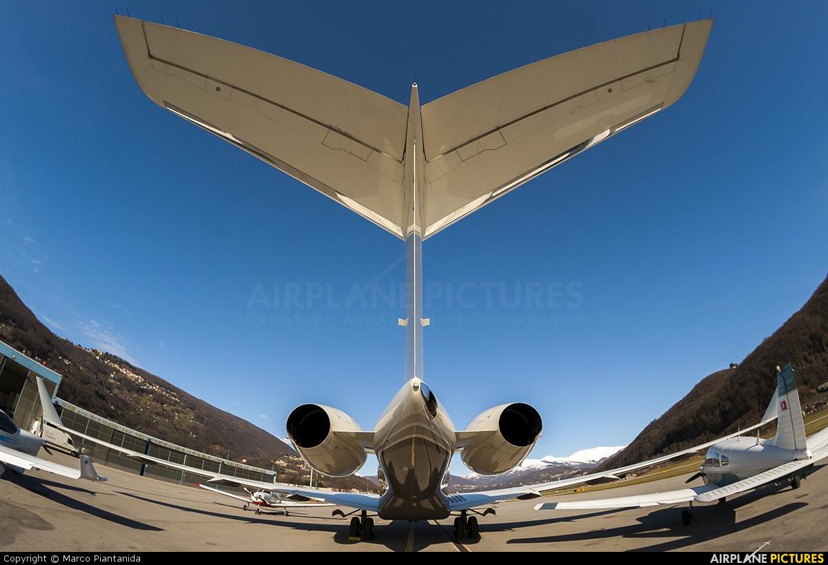 Private VP-BVG aircraft at Lugano - Agno