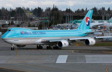 HL7623 - Korean Air Cargo Boeing 747-8F