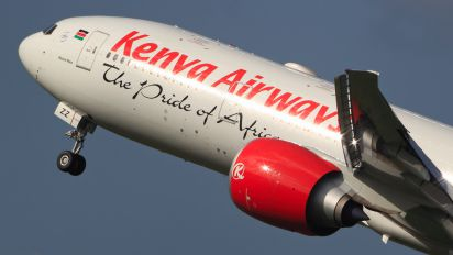 5Y-KZZ - Kenya Airways Boeing 777-300ER